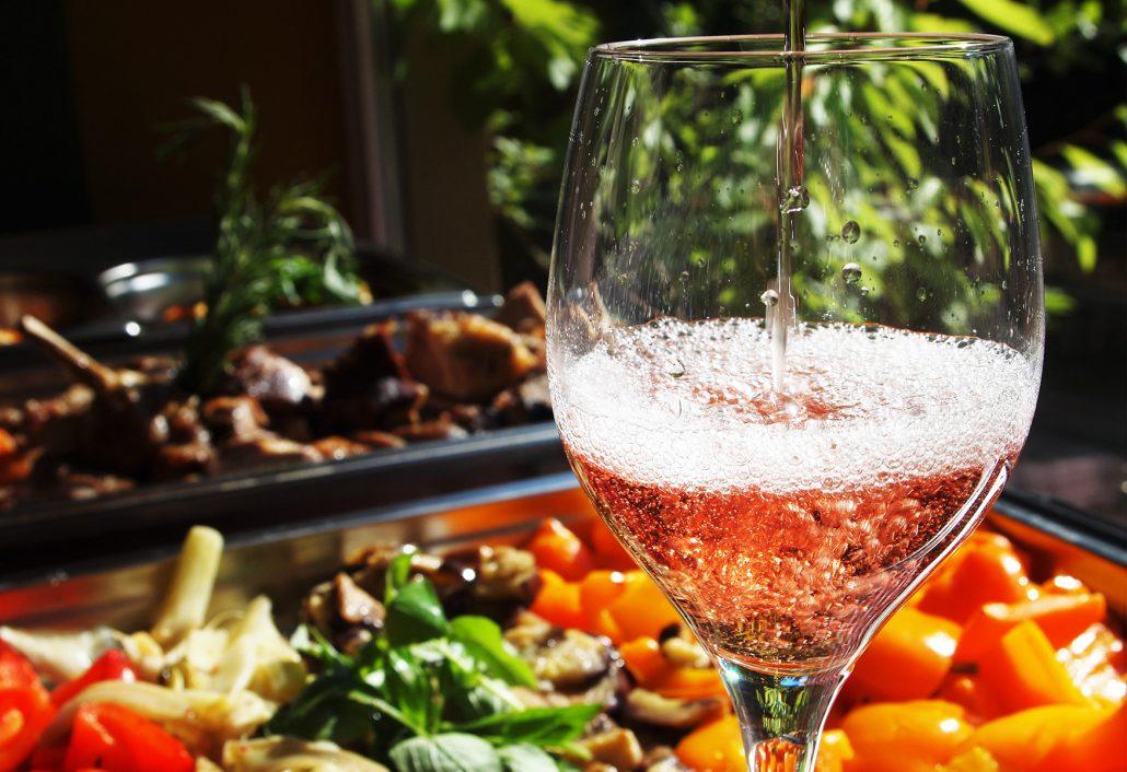Catering Weinbeisser: Buffet im Sommer